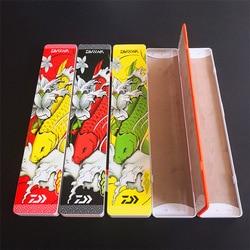 Z tworzywa sztucznego kolorowy rysunek przynęty wędkarskie trzy warstwy 45cm 40cm wydłużyć pudełko rybackie sportowe akcesoria wędkarskie w Reflektory od Lampy i oświetlenie na