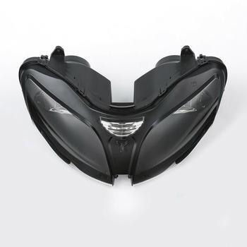 Motosiklet Far Başkanı Lamba Donanımı Için Kawasaki Ninja ZZR600 ZX6R 00-02 ZX9R 2000-2003 2001 2002