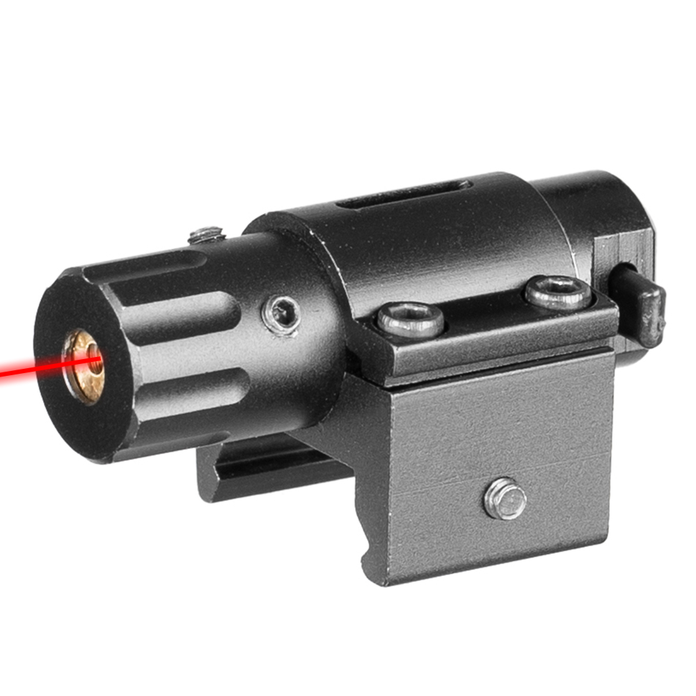 Hunting Mini Tactical Red Laser Gun Sight For Pistols Weaver Mount Hunting Laser Sight Laser Sight Green Lasers     - title=