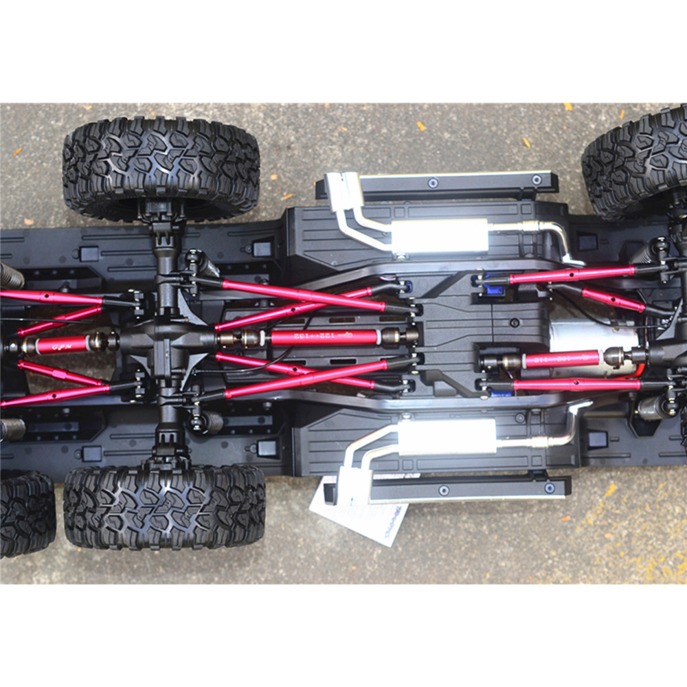Lightweight Adjustable Length Upper and Lower Keel Rod for 1/10 TRAXXAS TRX6 G63 88096-4 RC Car Upgrade Parts