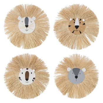 Lion Hanging Decorations - Lion Head Ornament