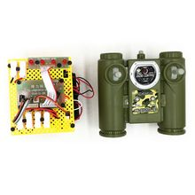 2.4G 30 Meter 6CH Remote Control and Receiver Board 12v for Robot Tank Car 634F