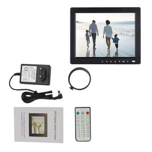 Frame Album Alarm-Clock Digital-Picture Photo-Slideshow Video-Player HD Music TFT LCD