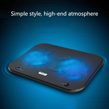 Usb Powered Laptop Cooling Pad 2 Air Fan Low Noise USB Powered Computer