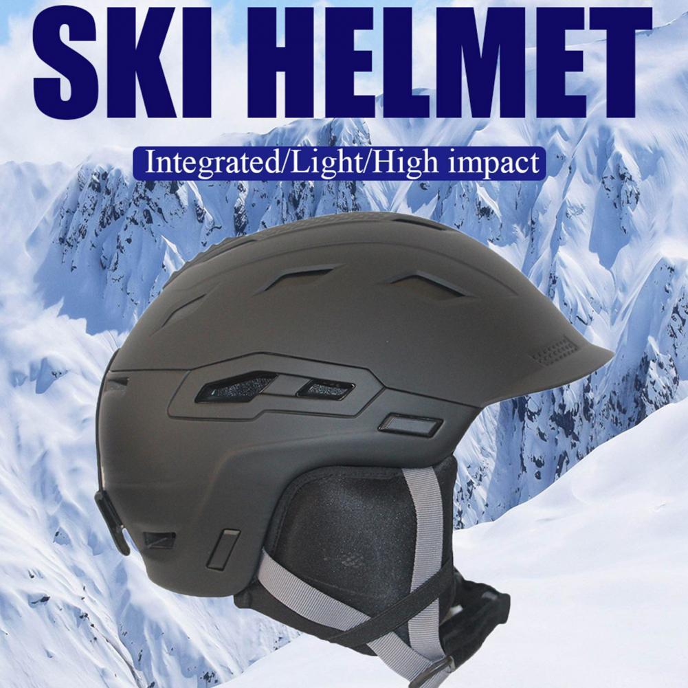 Men Women Adult Outdoor Ultralight Adjustable Ski Helmet Protective Equipment Ski Helmet