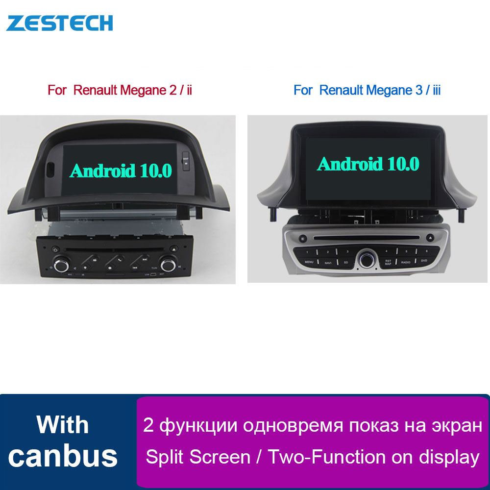 car dvd player Android 1din Car Radio For Renault Megane 2 ii / for remault Megane 3 iii /Fluence Car Multimedia Head Unit GPS image