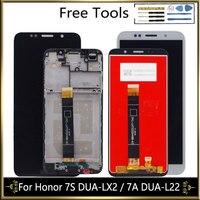 LCD Display Für Huawei Honor 7S DUA LX2 DUA L02 Ehre 7A DUA L22 LCD Display Touchscreen Digitizer Ersatz Handy-LCDs    -