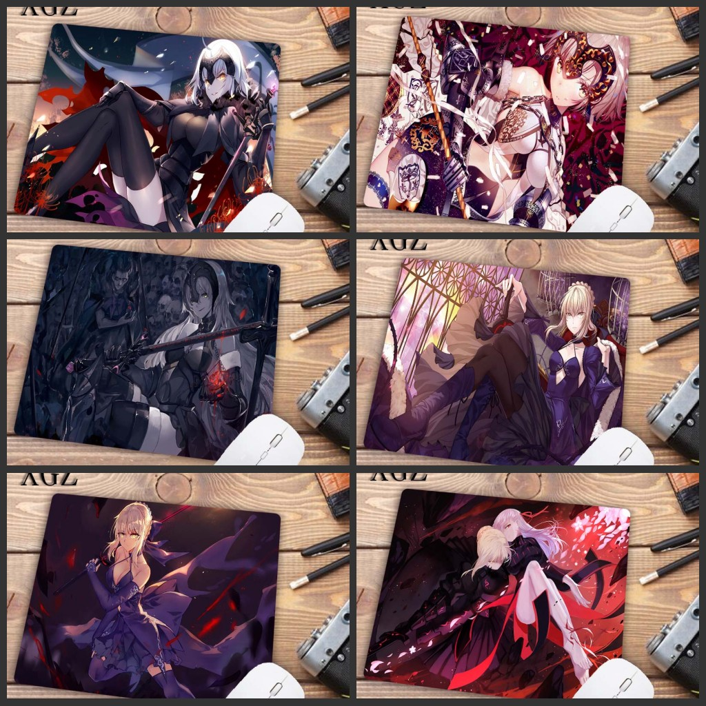 XGZ Big Promotion Anime Fate Series Grand Order Gaming Mousepad For PC Laptop Notebook Small Mouse Pad Gamer Desk Pad 22X18CM