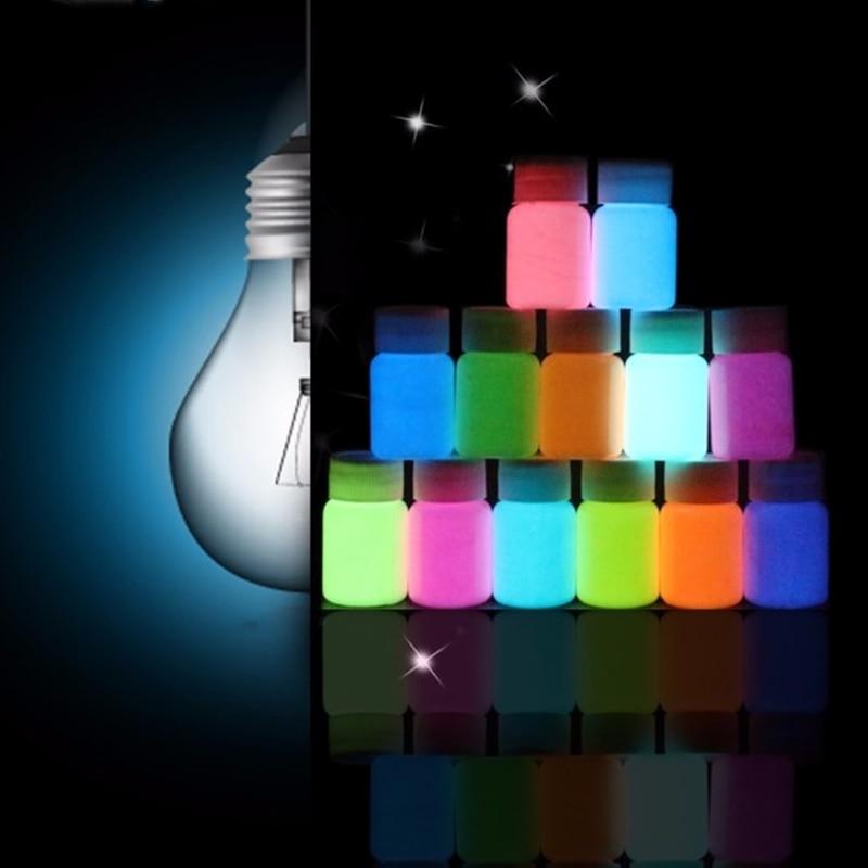 13 Colour Luminous Powder Resin Pigment Dye UV Resin Epoxy DIY Making Jewelry DXAA