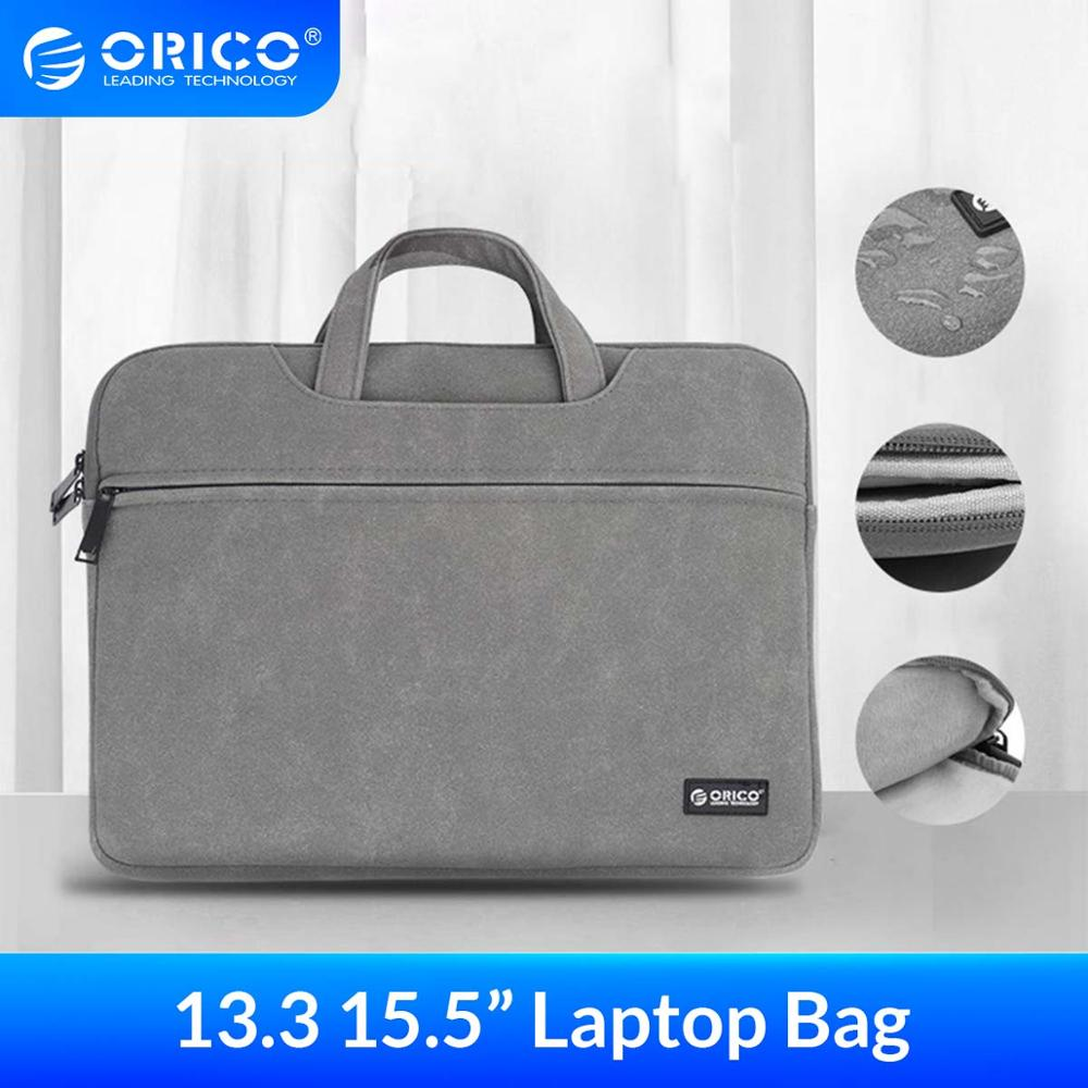 ORICO Waterproof <font><b>Laptop</b></font> Sleeve Bag <font><b>Case</b></font> for Macbook Air Pro 13.3 <font><b>15.6</b></font> Notebook handbag For Dell <font><b>Acer</b></font> Asus Business Storage bag image