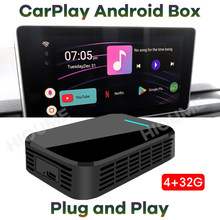 Nuevo 4 + 32G Carplay caja AI coche Universal Android 9,0 sistema GPS para Mercedes Benz Porsche, Audi Peugeot SKODA Cadillac Buick Volvo