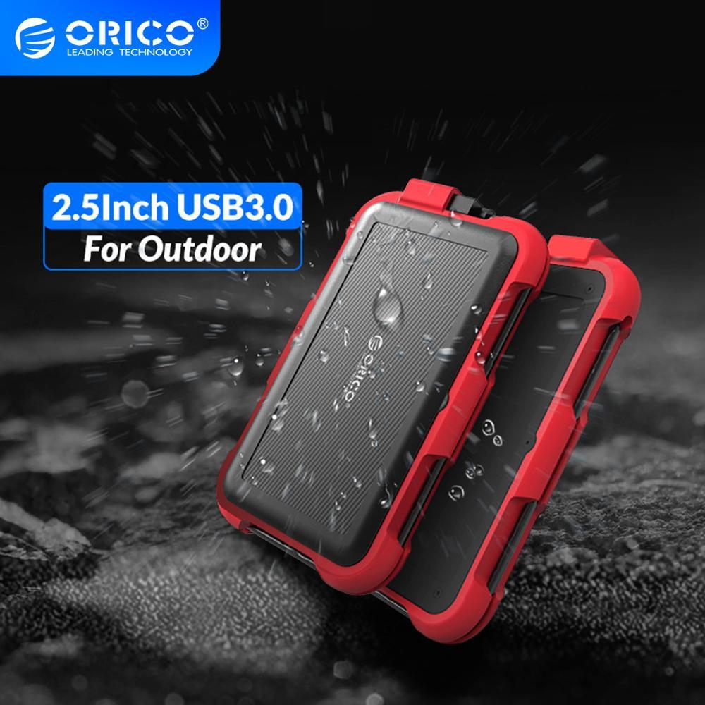 Orico 2.5 Inch Hdd Behuizing Outdoor Waterdicht Schokbestendig En Stofdicht Hard Disk Box Sata 3.0 Naar Usb Hdd & Ssd case Voor Samsung