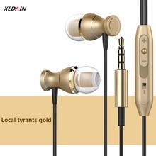 Auriculares intrauditivos con cable, impermeables, magnéticos, estéreo, con sonido de música, micrófono, para teléfonos iPhone y Android