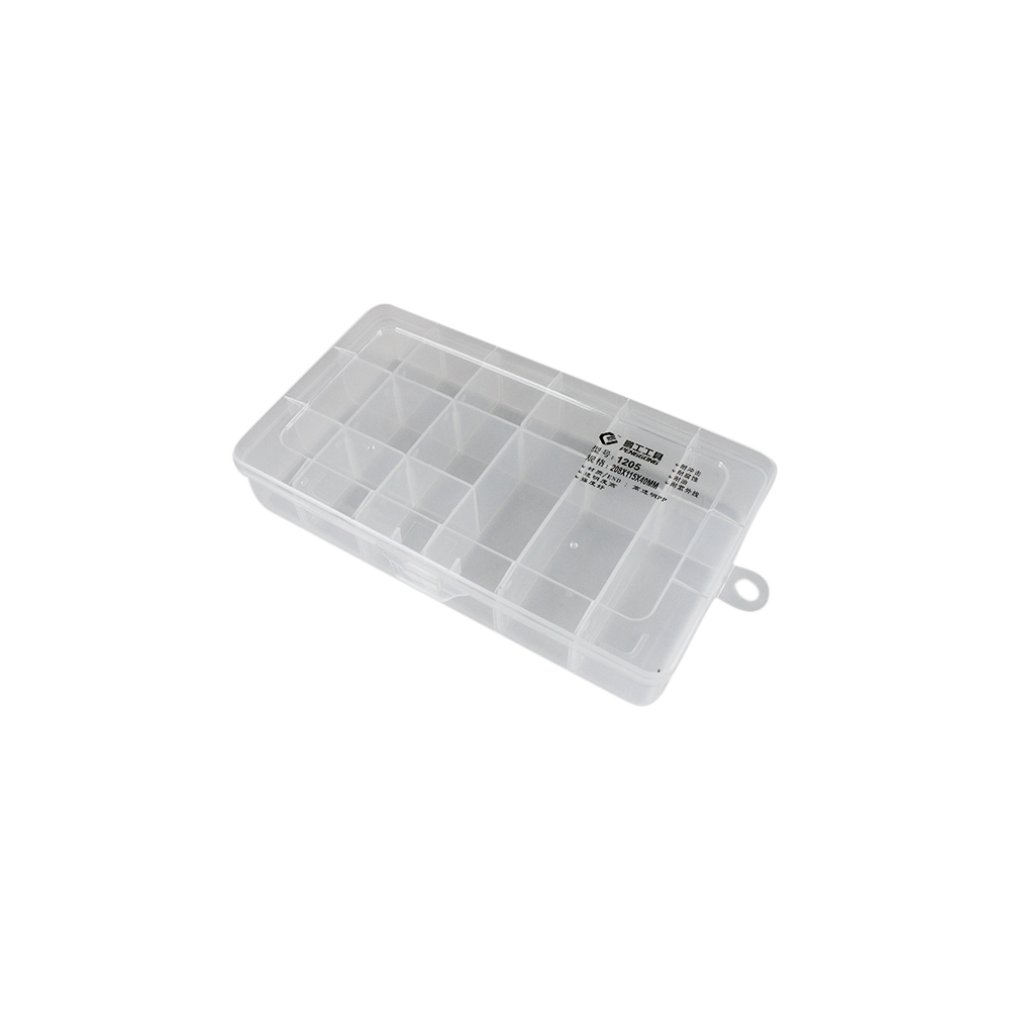 1205 Plastic Tool Box Transparent Toolbox Electronic Components Screw Storage Box Electronic Plastic Parts Tool Boxes