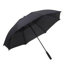 Outside Large Fabric Umbrella Long Handle Men Uv Protection Parasol Automatic Outdoor Double Sombrinha Windproof Umbrella EA6YS
