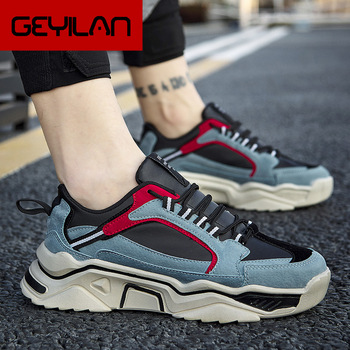 2020 Spring Casual Sports Men's Shoes Light Weight 2020 Spring New Male Platfrom Sneakers White Shoes For Men Sneakers