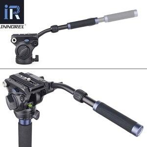 Image 3 - VM70K المهنية خفيفة الوزن الألومنيوم تلسكوبي كاميرا Monopod مع رئيس السائل وقاعدة ترايبود ل DSLR كاميرات فيديو