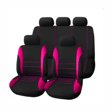 (Frente + traseira) cobertura de assento de carro de luxo gusa 4 temporada para hyundai santa fe ix25 solaris à prova de água capa para banco de carro