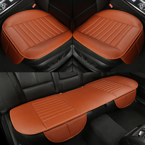 Image 2 - WLMWL Universal Leather Car seat cover for Mitsubishi outlander ASX all models lancer pajero sport pajero dazzle car styling