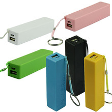 50 PICS USB independent charging portable Power Bank 18650 External Ba