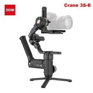 Image 2 - Estabilizador de mão para câmeras zhiyun, crane 3s 3s pro 3s e, 3 eixos, com carga máxima de 6.5kg para câmera de cinema vermelho câmeras de vídeo gimbal
