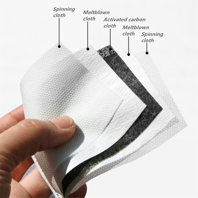 White Leaf Reusable Face mask With Filter Washable Mask Adjustable Straps Mouth Mask Windproof Anti Mouth-muffle Proof Flu Masks 5