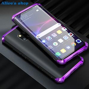 Image 1 - Aluminium Metal & Hybrid Pc Hard Volledige Bescherming Case Voor Huawei Mate 20/ Pro/ X 5G Luxe slim Shockproof Cover Case 20X 5G