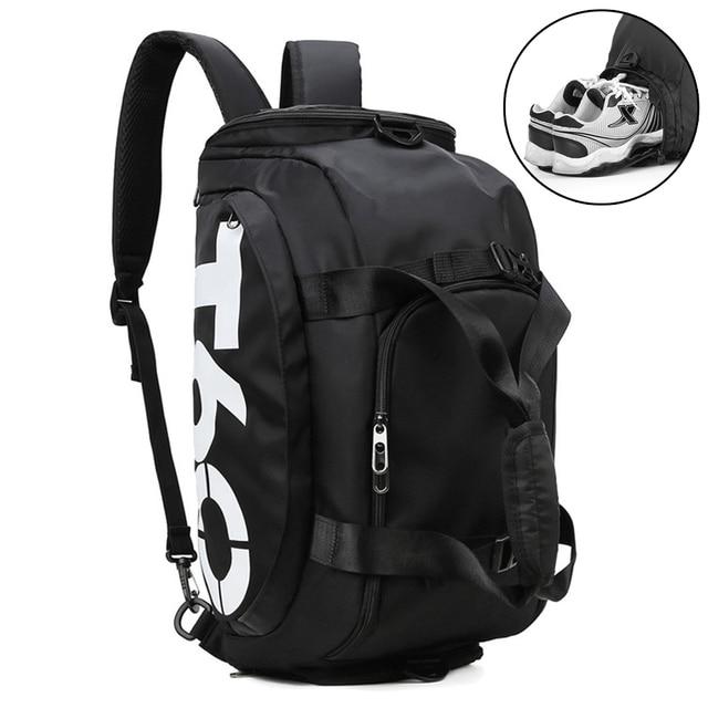 Dry Water Wet Separation Men Fitness Bag Waterproof Gym Sport Women Bag Outdoor Fitness Portable Ultralight Yoga Sports Bag 1
