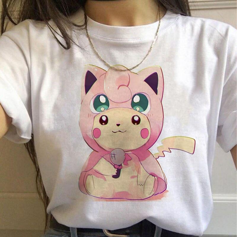 new-font-b-pokemon-b-font-summer-aesthetic-kawaii-pikachu-cute-oversized-t-shirt-women-funny-90s-anime-figure-clothes-cartoon-streetwear-tops