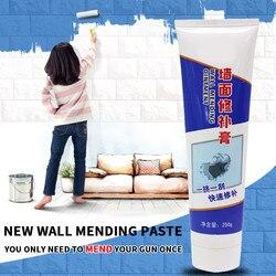 Настенная мазь для ремонта стен, белая внутренняя стенка, ремонт кожи, стена, трещина, заполнение отверстия, шпатлевка, крем для ремонта