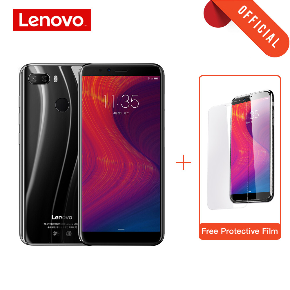 Global Version Lenovo Mobile Phone 3GB 32GB K5 Play Face ID 4G Smartphone 5.7 Inch Snapdragon Octa Core Rear Camera 13MP 2MP