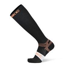 Профессиональные мужские и женские дышащие эластичные Компрессионные носки для ног, футбольные носки ниже колена, спортивные носки для активных школьников