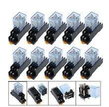 10 компл/лот my2nj катушки dpdt электромагнитный Мощность реле