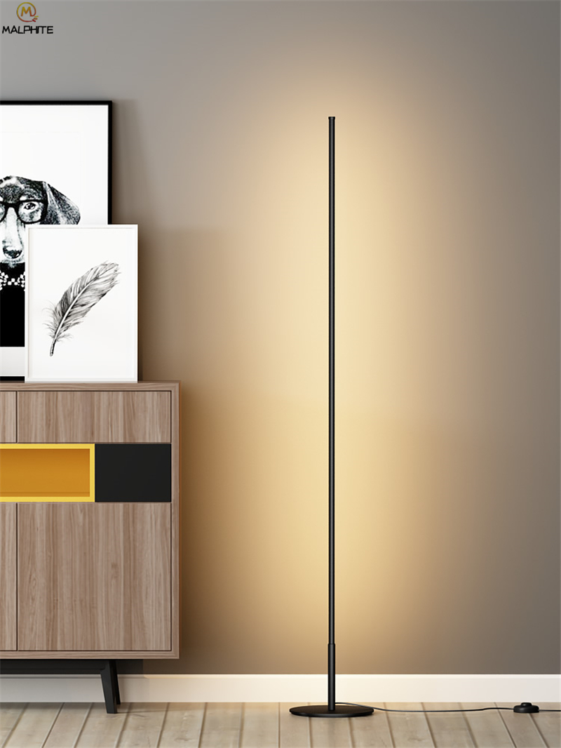 US $69.75 40% OFF|Nordic Standing Lamps for Living Room Luminaria Floor  Lamps Dining Room Lamp Stand Modern Led Home Decor Standing Lamp  Lambader-in ...