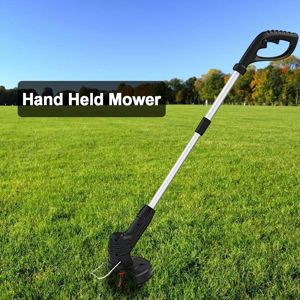 Portable Grass Trimmer Handheld Chargeable Weed Mower Grass Cutter With Detachable Head Grass Trimmer Tool Kits