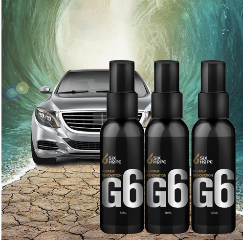 G6 Automotive Plastic Rubber Reconditioning Interior Decoration Coating Film Table Plate Wax Real Leather Maintenance Polish