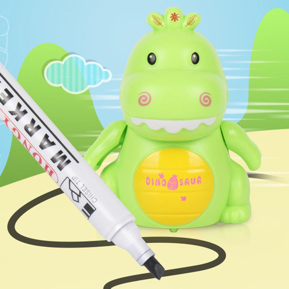 Mini Electrict Cute Dinosaur Robot Pen Inductive Remote Radio Vehicle With Light Music Education Toy Improve Creativity Imaginat