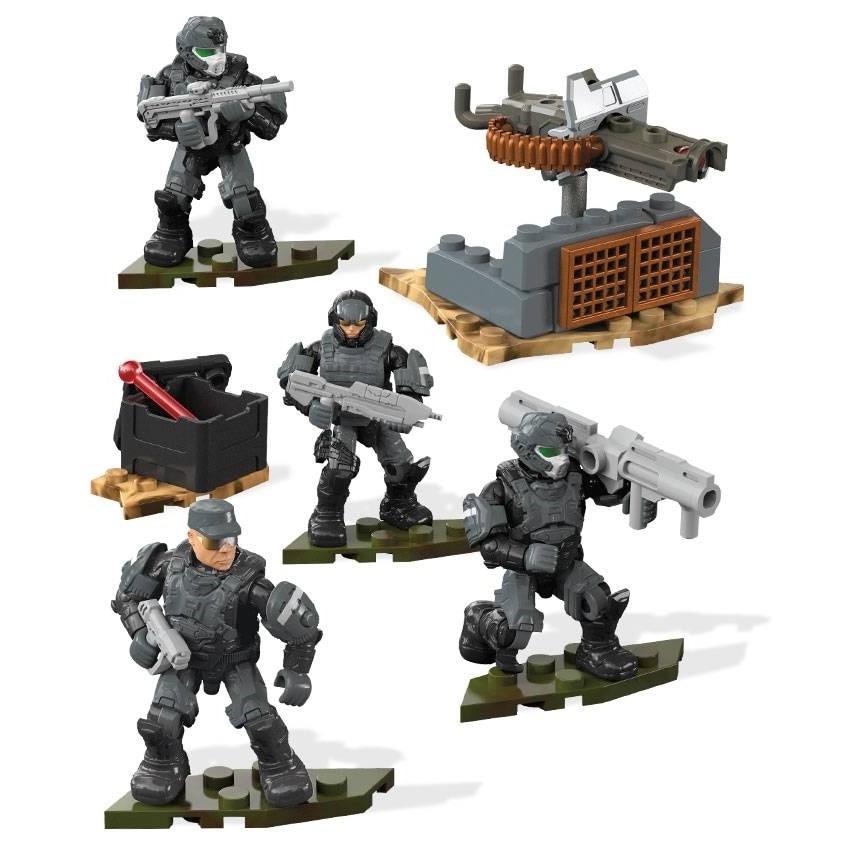Halo ONI Marines Fireteam Building Set FMM87 NIB Mega Building Bloks Toy