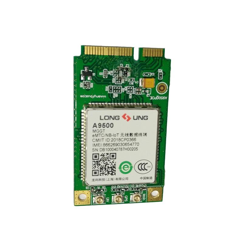 Longsung a9500 mggt lpwan mini pcie módulo suporte emtc/nb-iot/egprs LTE-TDD cat m1 (emtc)