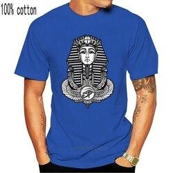 2018 Brand  Clothing Men Fashion  Cotton Clothing Egyptian Pharaoh  Winged Ankh Tshirt -   Pyramids Movie T-Shirt