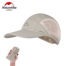 Naturehike – casquette de pêche pliante, Baseball, chapeau de randonnée, de Camping, d'extérieur, respirant, à séchage rapide, chapeau de soleil pour hommes et femmes