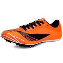 Мужская спортивная обувь; Мужская Спортивная обувь для бега; цвет оранжевый, зеленый; мужские спортивные кроссовки с шипами; обувь для бега
