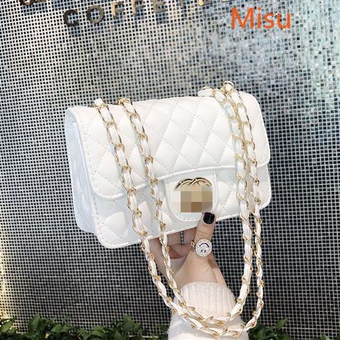 Ladies Shoulder Bag New Retro Casual Small Square Bag Chain One Shoulder Messenger Bag