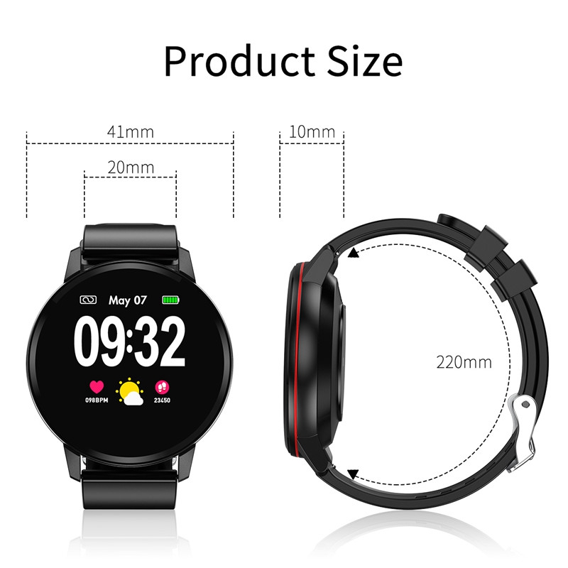 S01 Bluetooth Smart Watch Fashion Blood Pressure Oxygen Heart Rate Monitor Smartwatch For Android Ios Phone