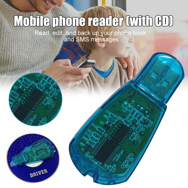 Недавно читатель USB SIM кард-ридер Simcard писатель/копия/Cloner/Резервное копирование GSM CDMA WCDMA сотовый телефон FIF66
