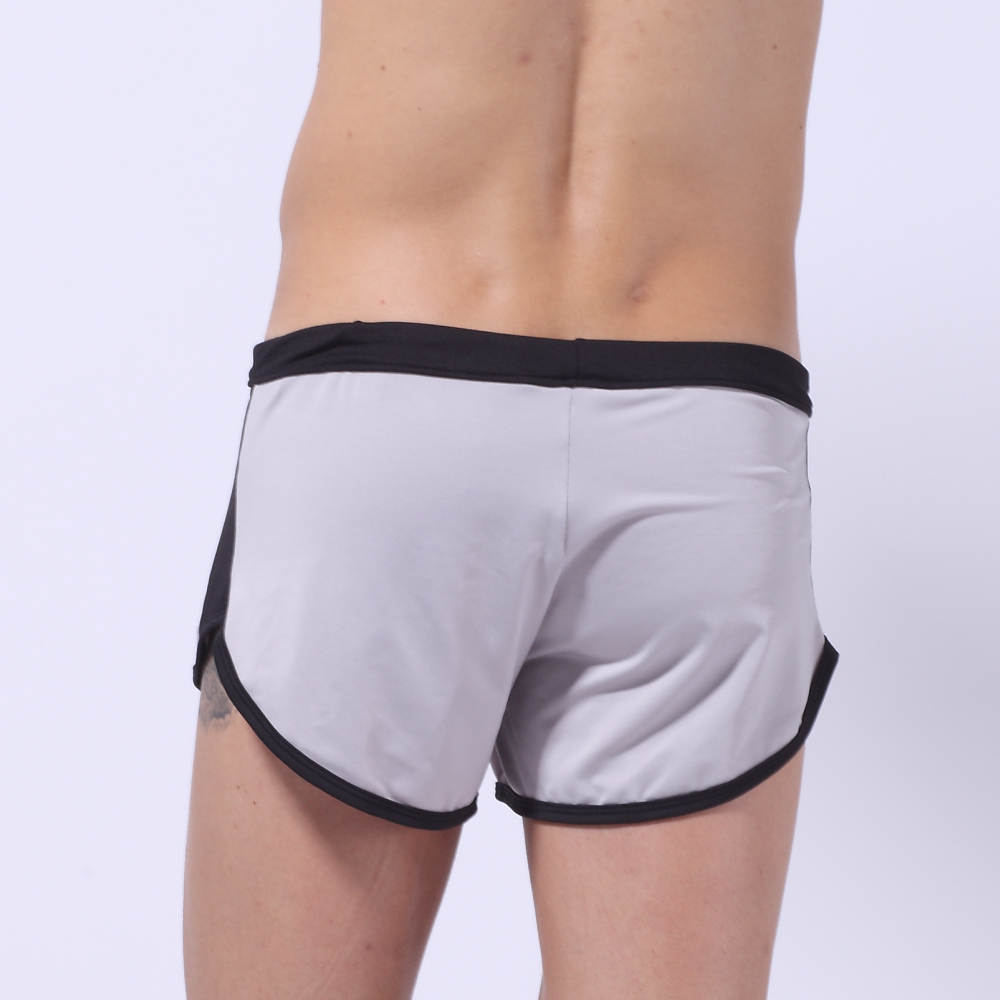 Summer New Quick Dry Men's Beach Casual Style Loose Boxer Shorts Household Slip Men's Board Shorts Male Short Polyes