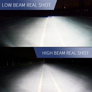 Image 4 - ASLENT רכב פנס אין שגיאת h7 led canbus H4 LED H1 H8 H11 HB3 HB4 9005 9006 9012 60W 20000lm 6500K אוטומטי מנורת ערפל אור נורות