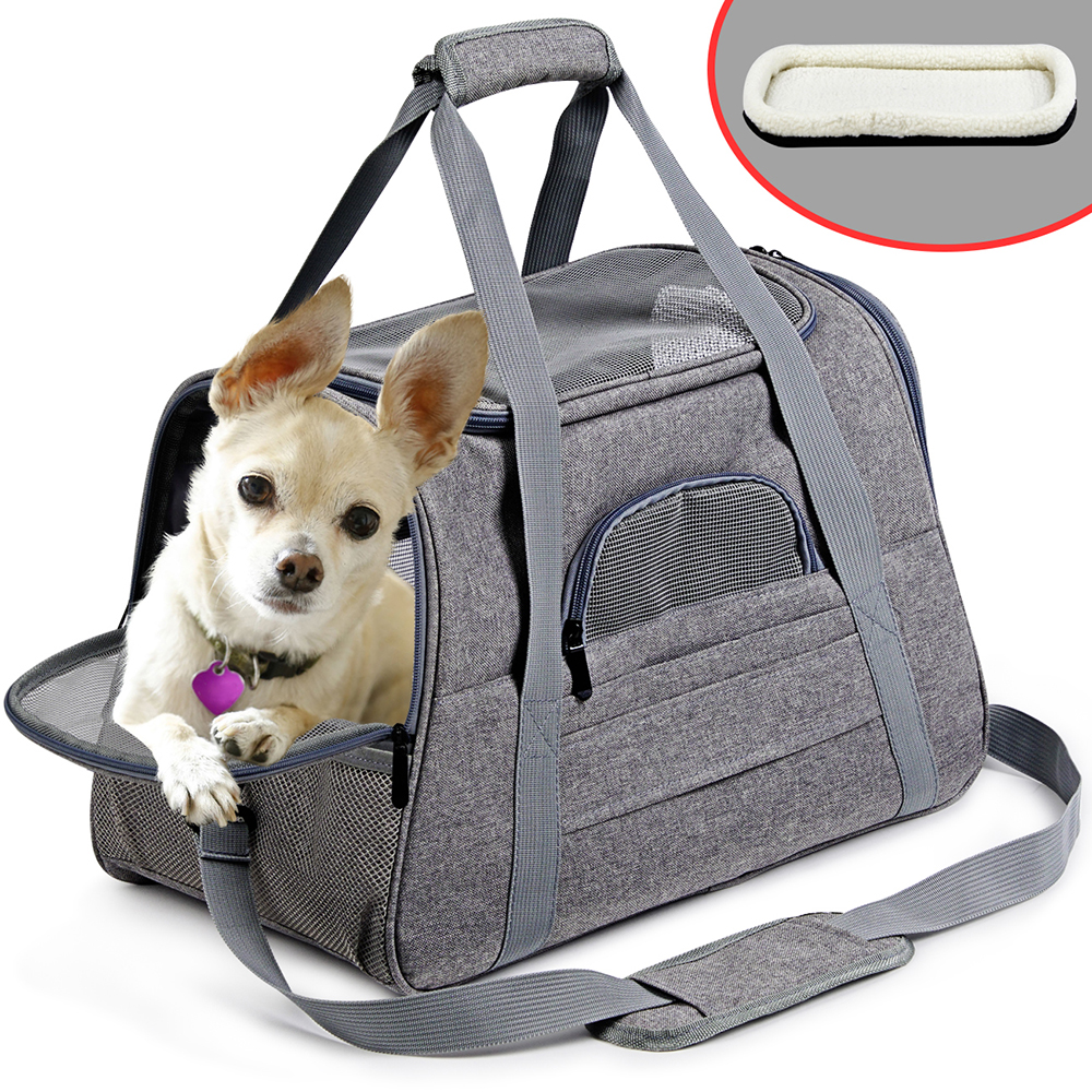 Portable Small Dog Backpack Carrier 7