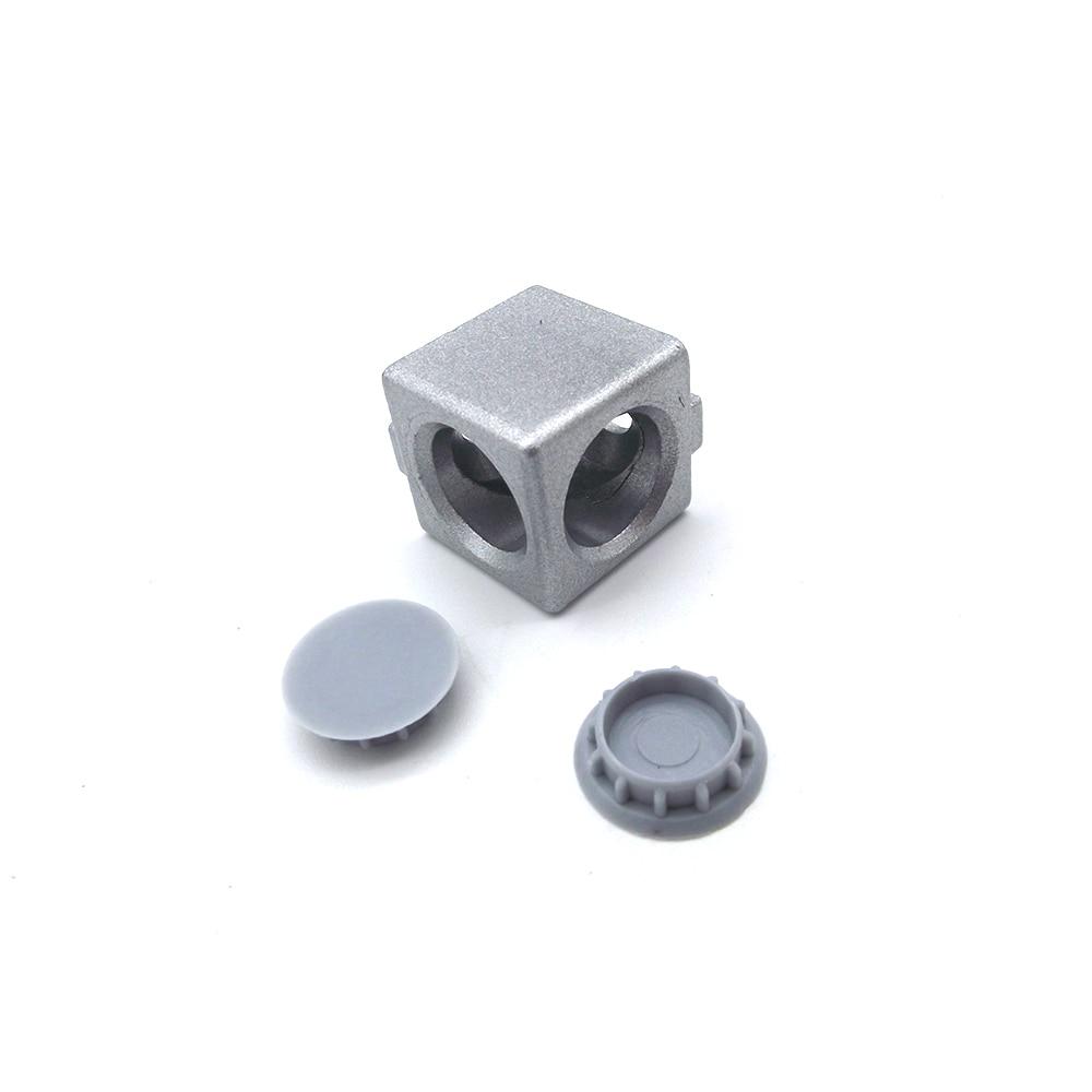 4PCS 2020 3030 4040 4545 Aluminum Cube Corner Connector Fastener Match Use Aluminum Profile