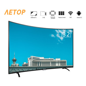 Free shipping by sea Cheap Price crt tv android hd smart television led curve tv with high quality